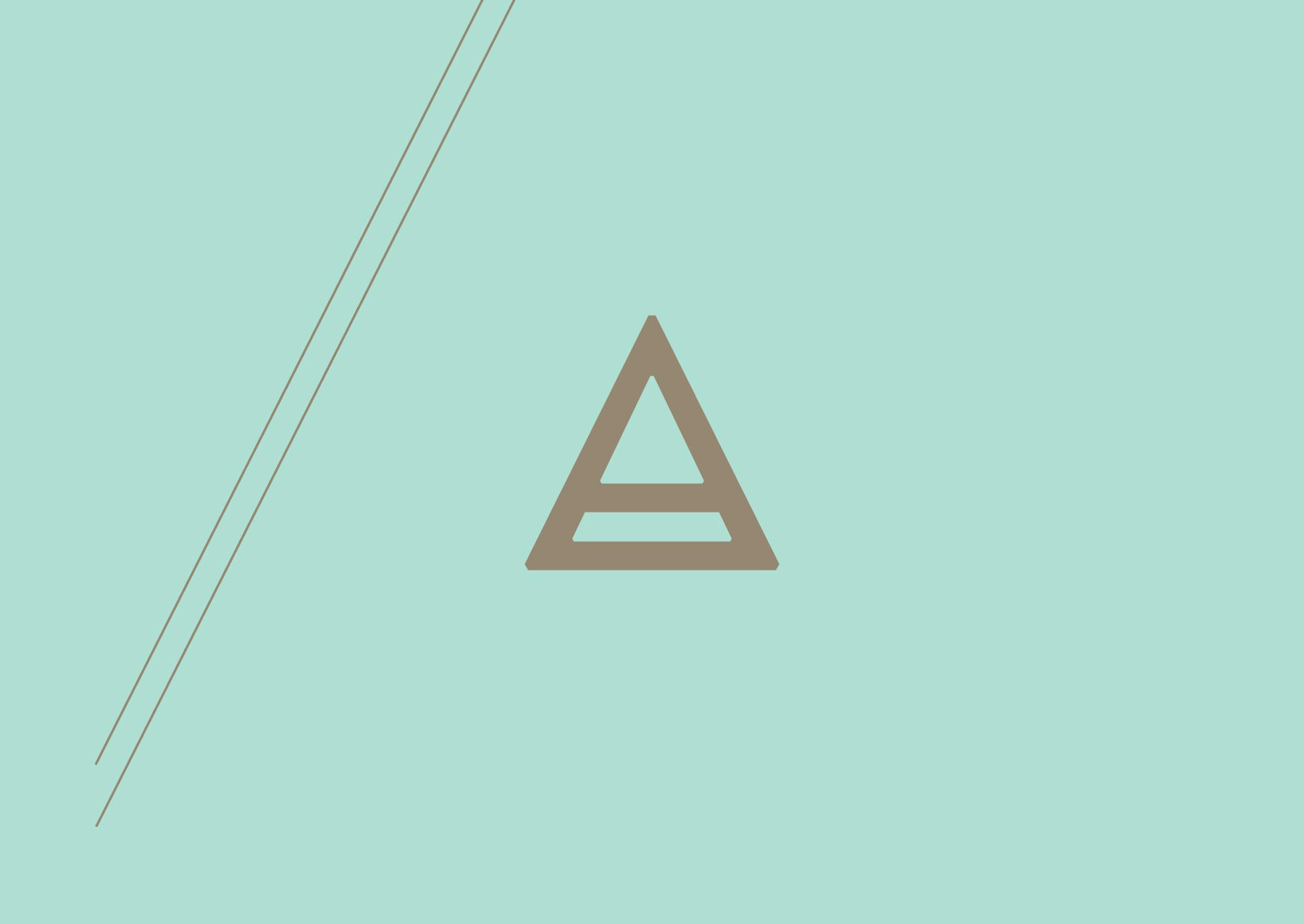 This Old Attic logo icon, designed by Lisa Furze