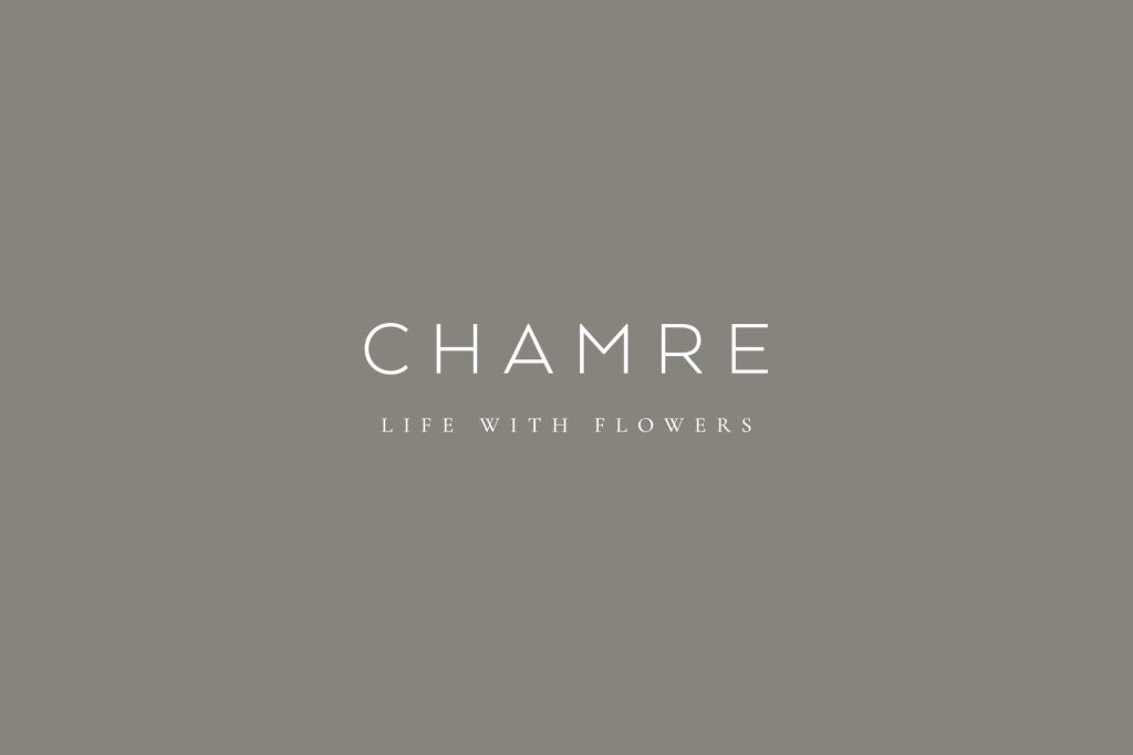 Chamre primary logo design, created by Lisa Furze