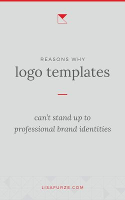 Logo templates lead to inauthentic, uninspired brand identities. Read this post to learn more about why it's a good idea to avoid going down this track!