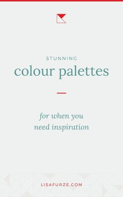 Here are 22 gorgeous colour schemes that you can use to inspire your next design creation