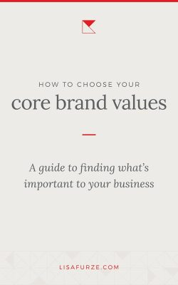 Defining your core brand values is a crucial part of establishing your brand's foundation. Read this guide to find tips and ideas for how to develop brand values that help your business to stand out.
