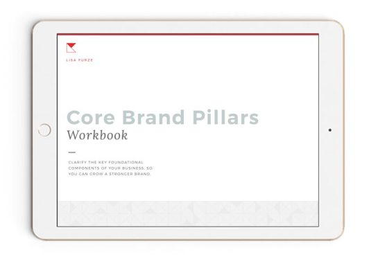The Branding Intro Workbook — free branding resource for business owners who want brand clarity and help defining the foundational pillars of their business.