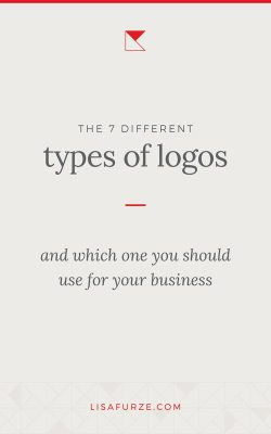 The 7 different types of logos and how they work best. Which one should you use for your business?