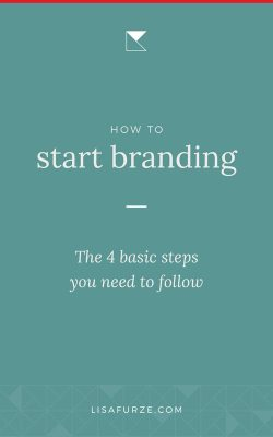 Every successful business needs thoughtful branding. Here are the 4 basic steps you want to follow.