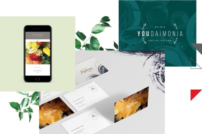 Examples of branding work