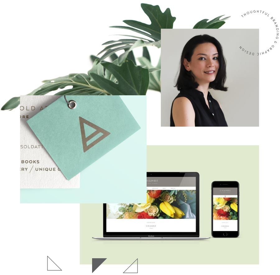 Brand consultant and designer, Lisa Furze