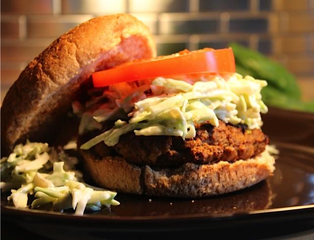 Tex-Mex Burger I LisaGCooks.com