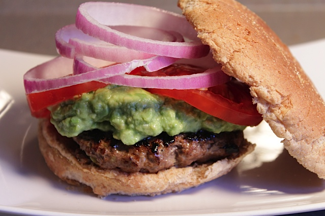 Mexican Fiesta (Beef) Burger