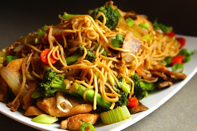 Healthy Chicken Chow Mien