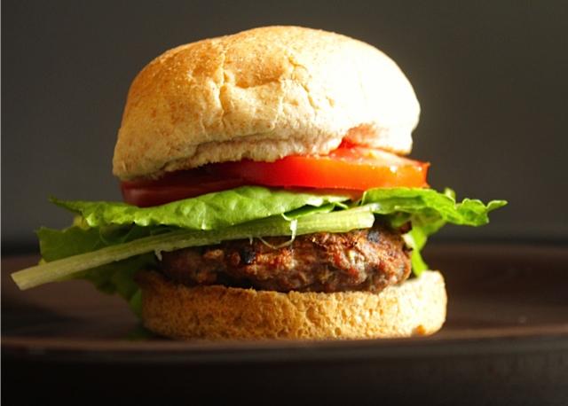 Grilled Herb Burger
