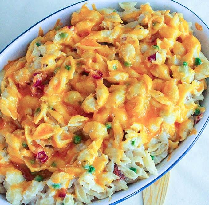Baked Creamy Cauliflower Mac and Cheese