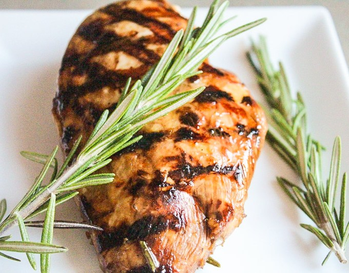 Rosemary/Soy/Balsamic Marinated Chicken