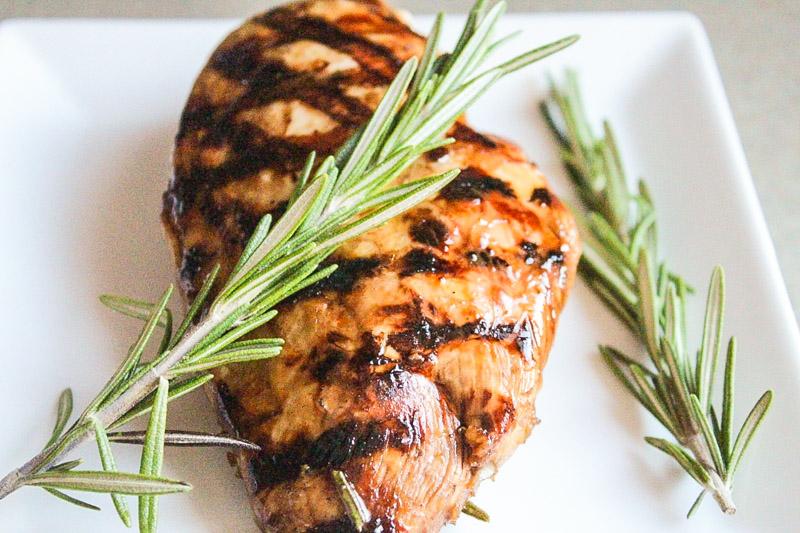 Rosemary/Soy/Balsamic Marinated Chicken