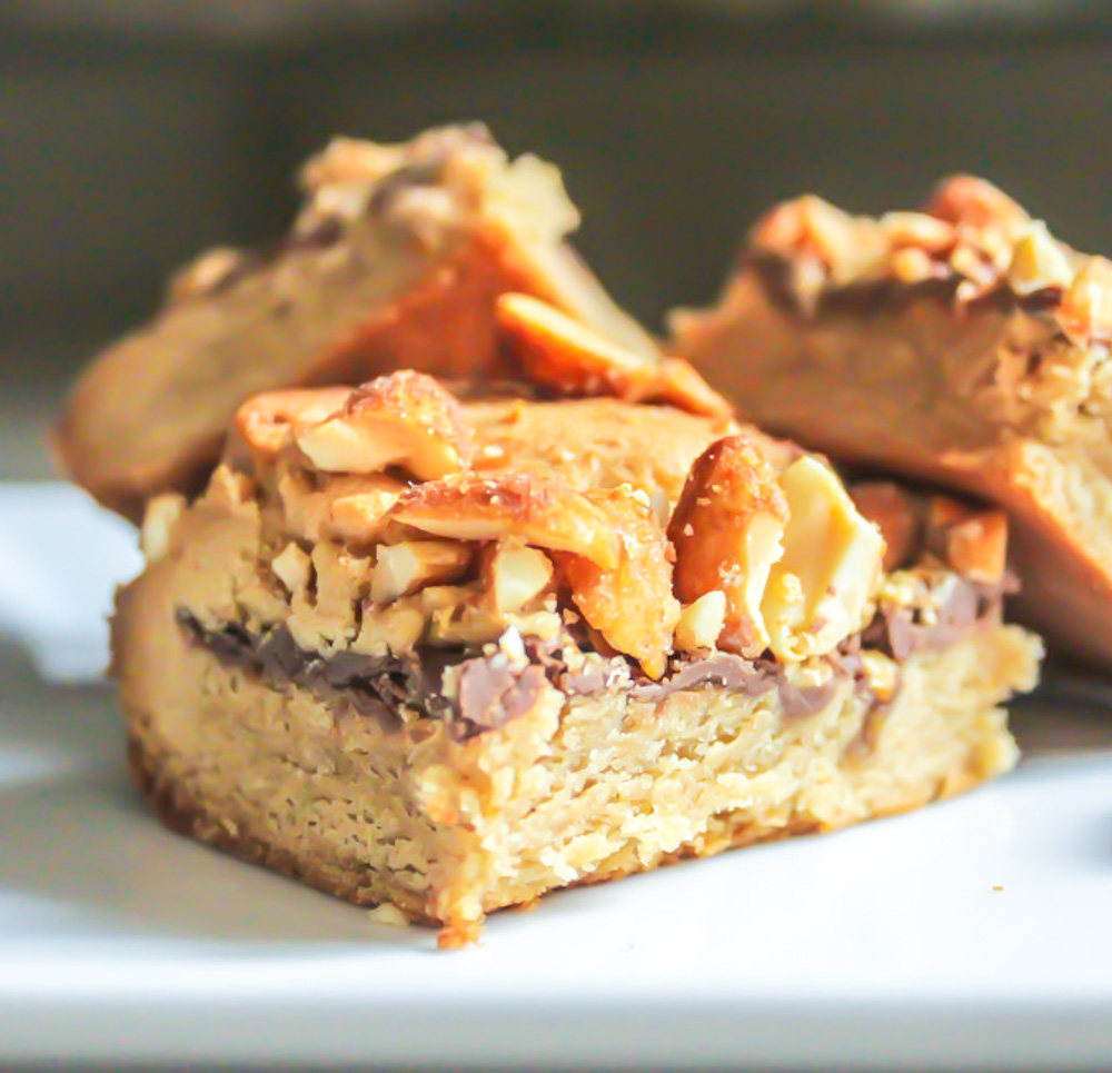 peanut butter and nutella bar - 2
