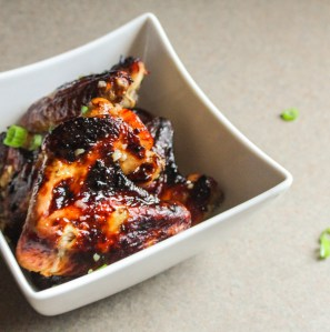 http://lisagcooks.com/baked-honey-garlic-chicken-wings/