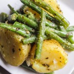 Potato and Green Bean Pesto Salad