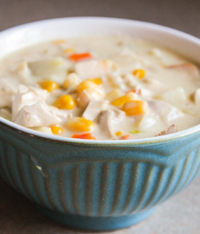 Turkey and Corn Chowder