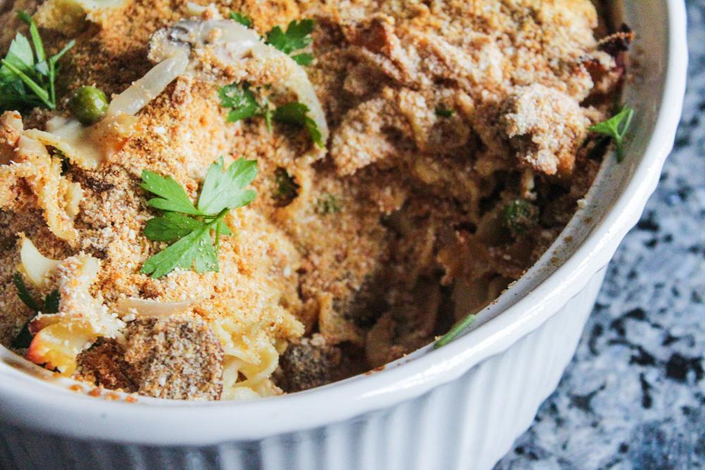 healthy tuna casserole