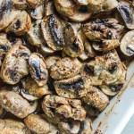 Roasted Teriyaki Mushrooms