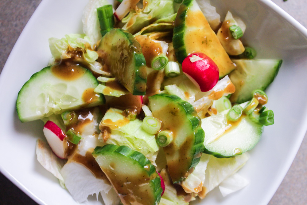 honey peanut lime vinaigrette