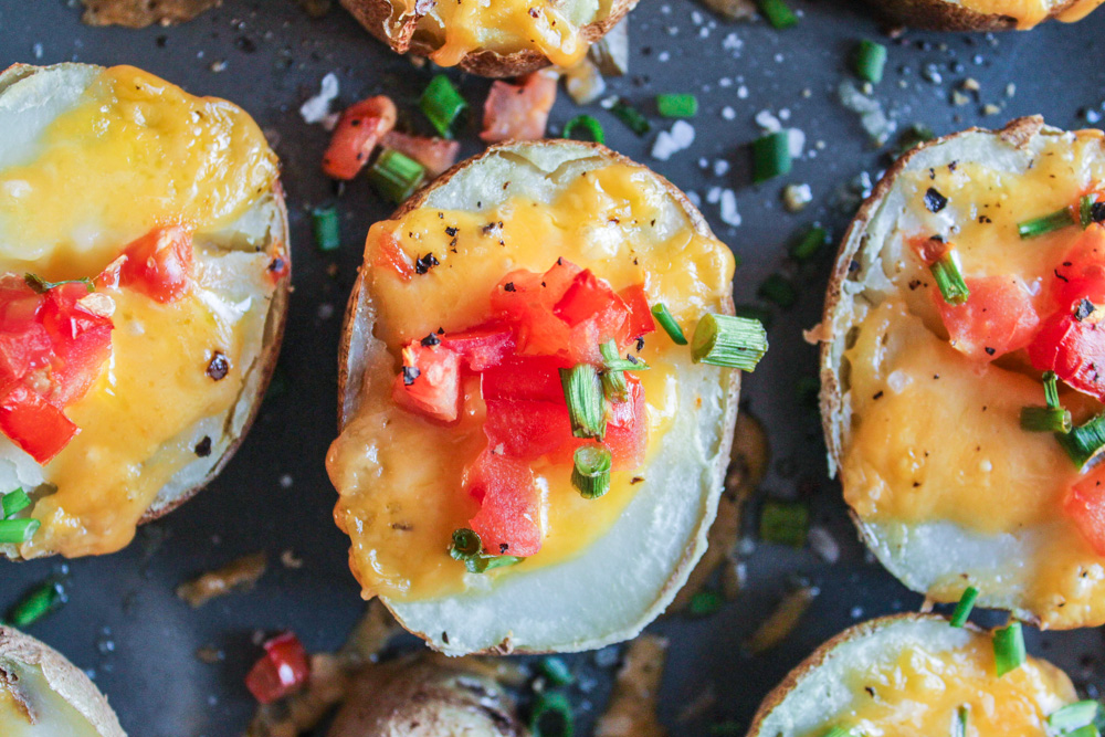 Lazy Man's Potato Skins