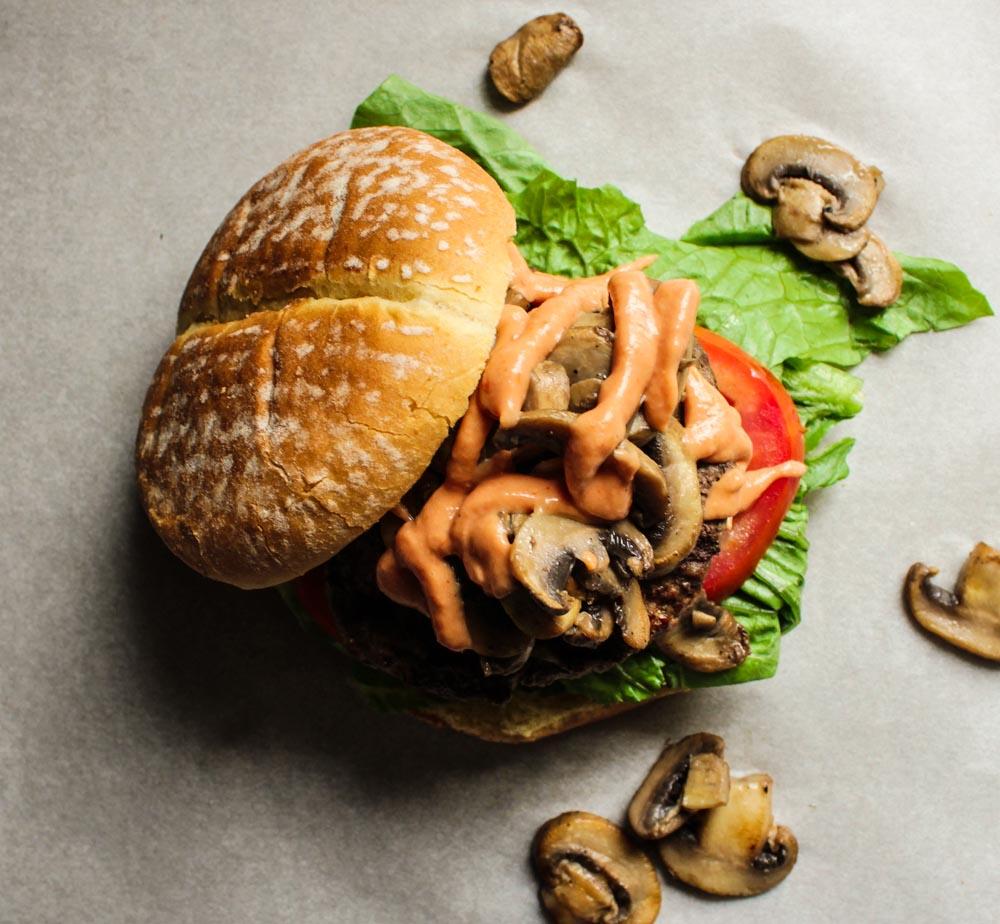 LisaGCooks.com I Take-Out Burger