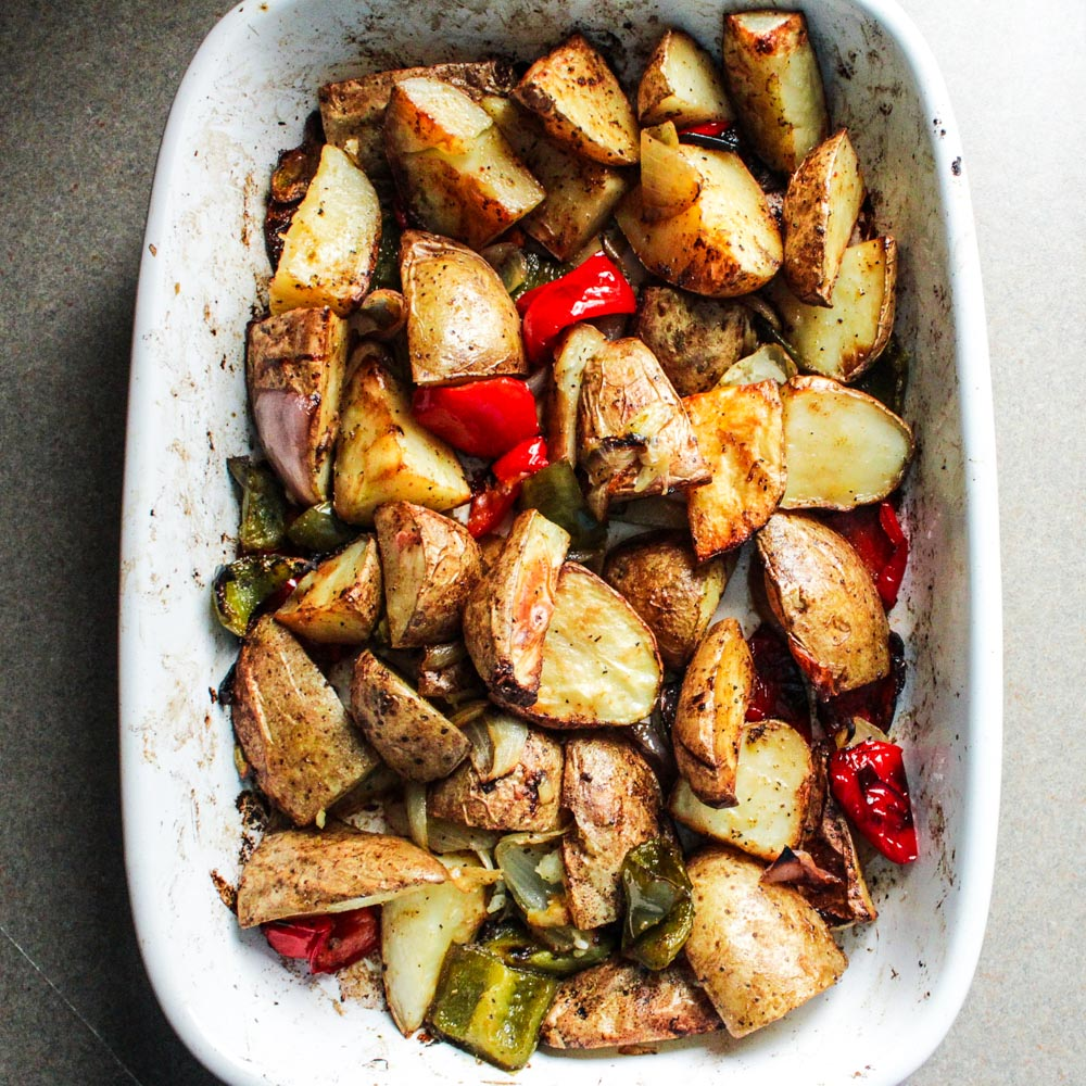 Healthy Roasted Potato Hash
