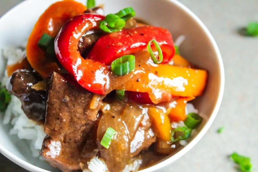 Instant Pot Teriyaki Beef