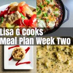Meal Plan Week Two