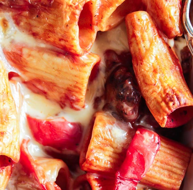 Baked Sausage and Pepper Pasta