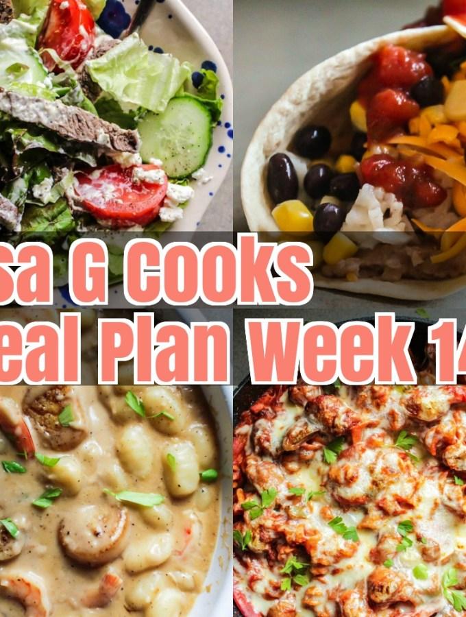 Meal Plan Week 14