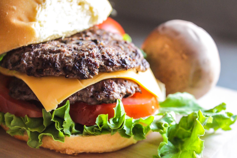 Homemade Double Cheeseburgers