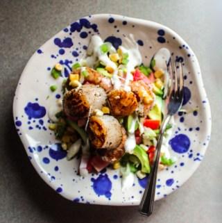 Cajun Seafood Salad