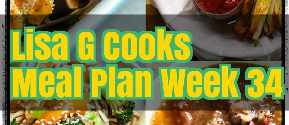 Meal Plan Week 34