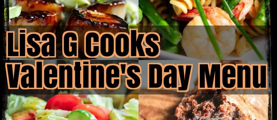 Valentine's Day Dinner Menu 2018