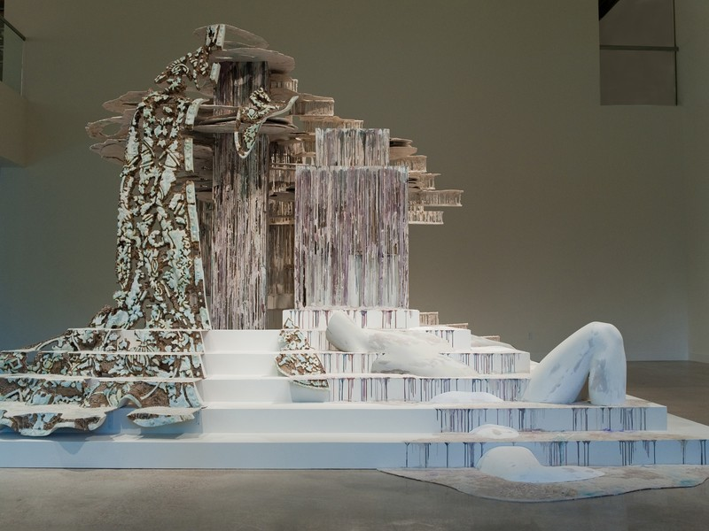 "Diana Al-Hadid's ""Suspended After Image"""