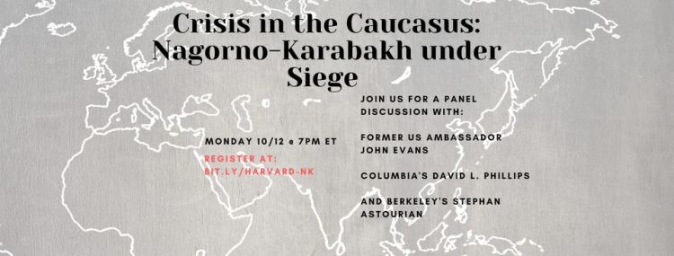 flyer for crisis in the caucasus
