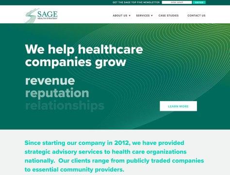 Sage Health Strategy