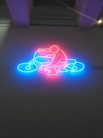 Neon art at Hugh Lane Gallery