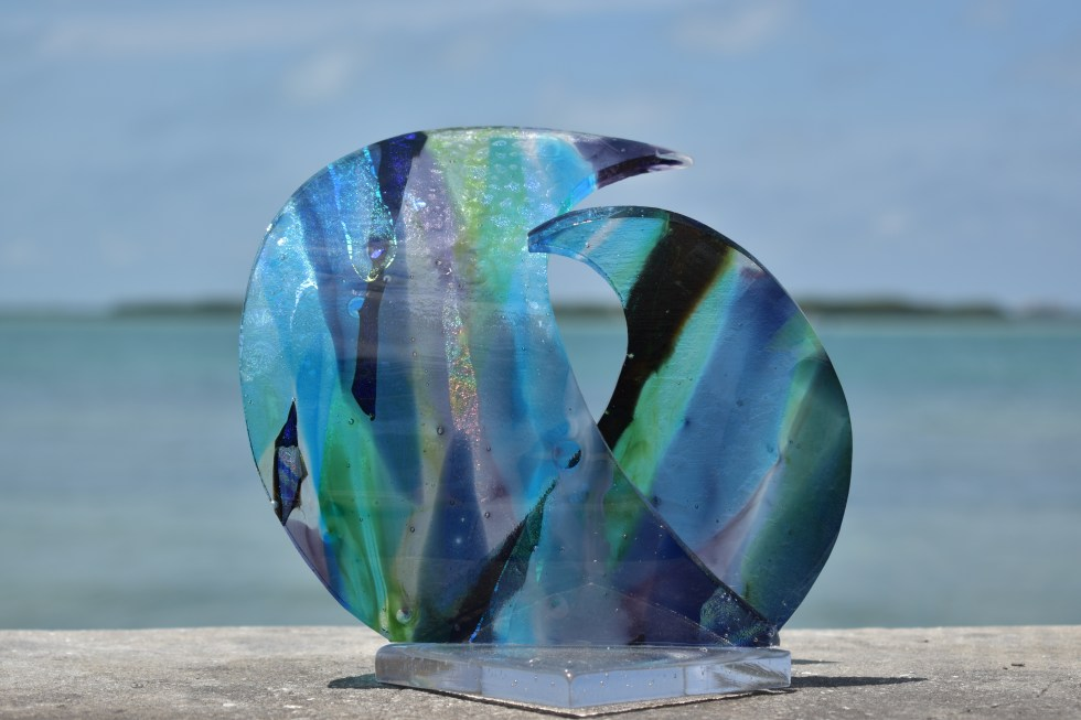 Currents, As seen in Sculptural Fused Glass Video