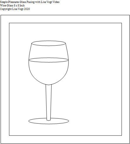 SP Wine Glass 8 x 8