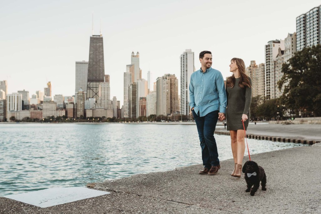 north avenue beach engagement, lincoln park engagement, chicago engagement photo, chicago engagement photographer, chicago engagement photography, unique chicago engagement photographer