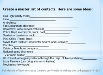 Master List for COW contacts