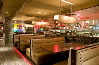 Booths at Rocks Modern Grill