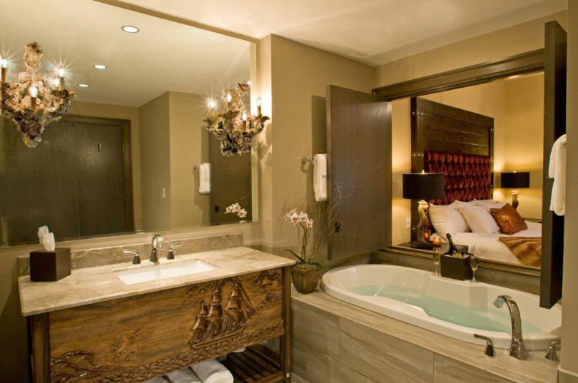 Bohemian Savannah Guestroom Bath