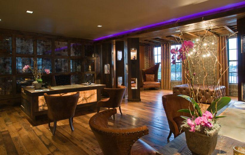 lobby reception bohemian savannah