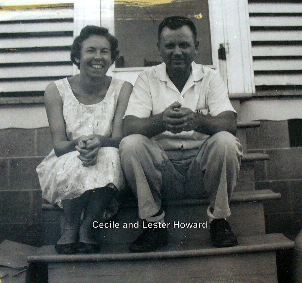 Cecile White Howard and Lester Howard