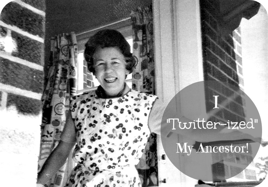 "Desperate to engage young adults in their family history? Challenge them to ""twitter-ize"" an ancestor!"