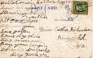 1914 Postcard Social Media