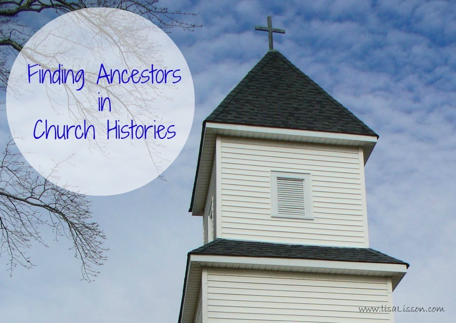 Finding ancestors in church histories